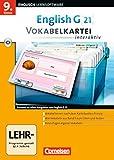 Book - English G 21 - Lernsoftware - Vokabelkarteien interaktiv - zu allen Ausgaben: Band 5: 9. Schuljahr - CD-ROM