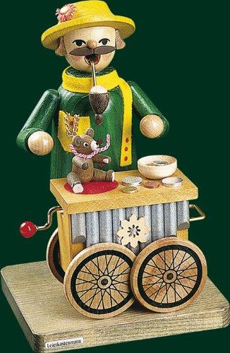 Incense l'organo a rullo di Natale della figurina con le montagne musicali miniatura di öre del meccanismo 17cm NUOVE
