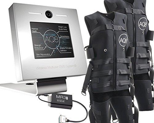 Profesional de Ems Sistema de–Sistema de Ems inalámbrico para un User con 2EMS de trajes y estación base