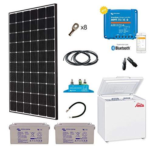 Kit solar Spécial Afrika 280W Kühlschrank Gefrierschrank Sol-166L