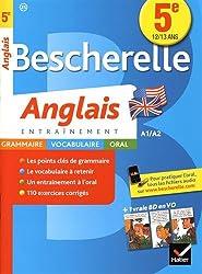 Bescherelle Anglais 5e: cahier de révisions