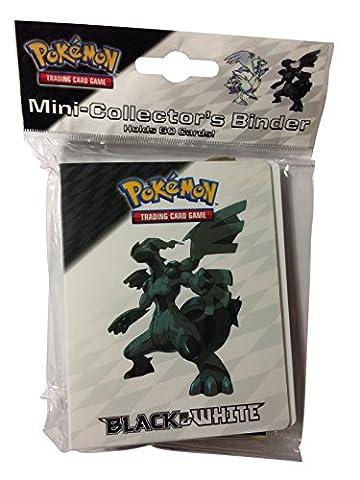 Pokemon Mini Binder Featuring Zekrom and Reshiram from Black & White (Album Holds 60 Cards)
