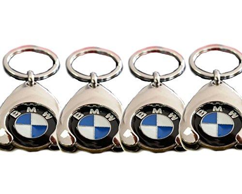 Original BMW llavero con moneda para carro de la compra la compra Chip 802724467491er 234567X1X2X3X4X5X6, Durchmesser 23 mm