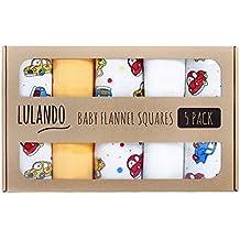 lulando 5906395189458plástico pañales pañales lavable y pañuelos, y para Vómitos paños para su bebé coches, 5unidades, 70x 80cm, eierschalenfarbe