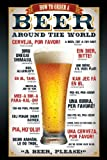 Empire 327949 Beer Bier - How to order - Poster Plakat Druck Prints - 61 x 91.5 cm