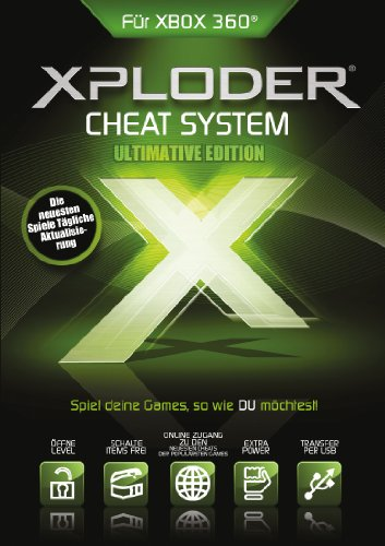 Xploder Ultimate XBox360 Cheating System Pro 2013