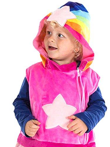 erdbeerloft - Mädchen Wolkenkind Baba Pink Karneval Kostüm , Mehrfarbig, Größe 80-86, 12-18 (Robin Kostüm 18 Monat)