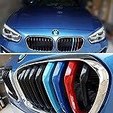 Inserts de rayures de grille en ABS ABS pour grille de rein pour F20 / F21 série 1, 15-18 (9 faisceaux)