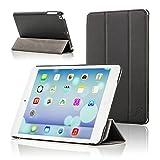 ForeFront Cases® Hülle für iPad mini - Kunstleder - Ständer-Funktion - magnetische Auto Sleep/Wake-Funktion - Schwarz