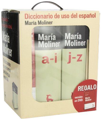 Diccionario del uso del español 3ª ed. + dvd (DICCIONARIOS) por MARIA MOLINER RUIZ