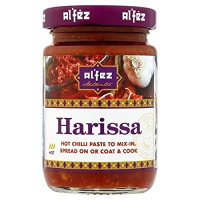 Alfez Authentic Moroccan Style Harissa Hot Chilli Paste, 100g