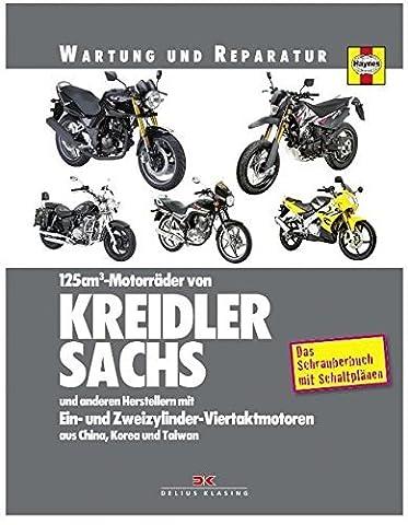 Wartungshandbuch und Reparaturanleitung für Kreidler Sachs Luxxon 125 ccm