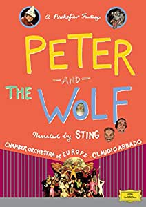 Peter And The Wolf: Narrated By Sting [DVD] [1993] [NTSC]