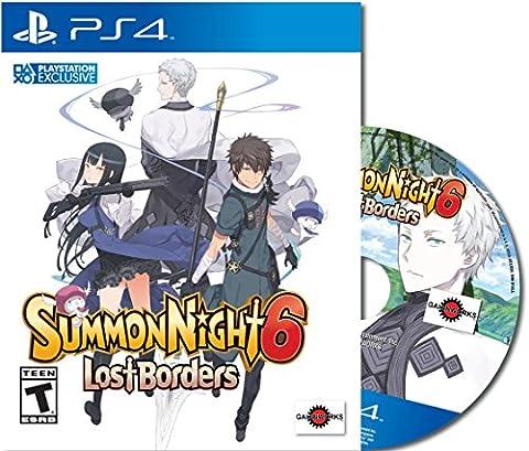 Summon Night 6: Lost Borders - PlayStation 4(US IMPORT)