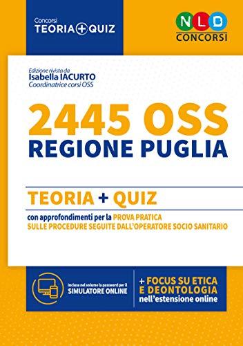 Manuale per 2445 Operatori Socio Sanitari (OSS) - Regione Puglia