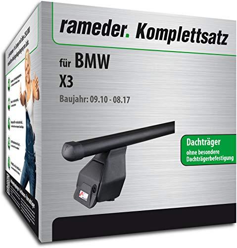 Rameder Komplettsatz, Dachträger Tema für BMW X3 (118790-08763-3)