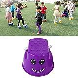 Dailyinshop Divertido plástico niños niños diversión al Aire Libre Paseo zanco Salto Sonrisa...