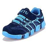 Moonwalker Zapatillas de Deportes Niños Unisex (EUR 37,Azul Marino)