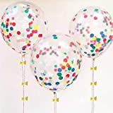 "Best Confettis - TOYXE 40335 12"" Inch Confetti Balloons Review"