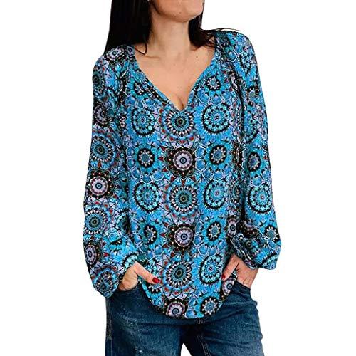 6f38e26e4642b9 Reaso Chemise Imprimée Printemps Femmes Manches Longues Shirt Fashion Top  Femme Grande Taille Sexy Pas Cher Hauts Femmes Sport Casual Blouse Femme ...