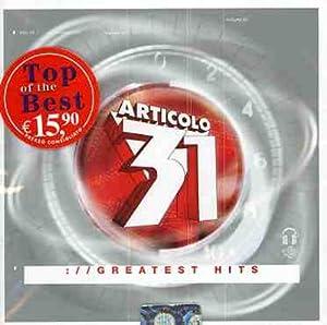 Articolo 31 - Greatest Hits