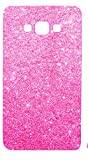 Novo Style Luxury Fashion Bling Sparkling Glitter Soft Back Cover Case For Samsung Galaxy j7 2016- Pink