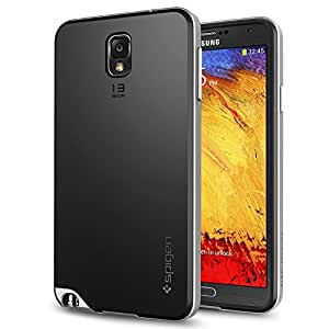 Spigen SGP10453 Neo Hybrid Case for Samsung Galaxy Note 3 - Retail Packaging - Satin Silver