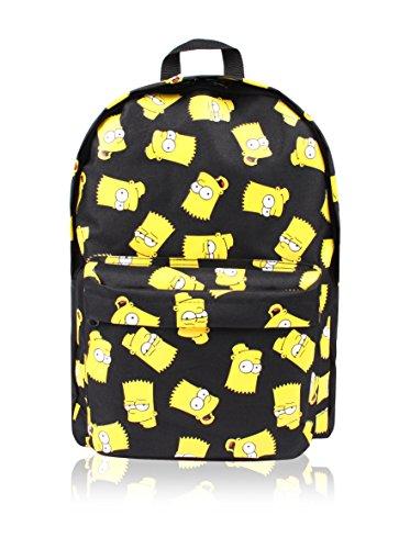 simpsons-bart-face-childrens-backpack-41-cm-black