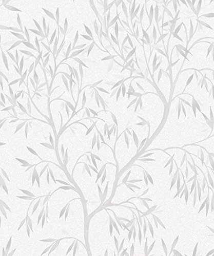 Eden Bloom Grey Wallpaper