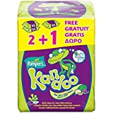 Pampers Kandoo Melon Toddler Wipes3 x 55 per pack