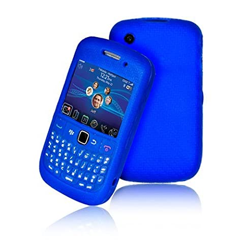 Supergets Keypad Silicone Case For Blackberry Curve 9300 / 8520,Screen