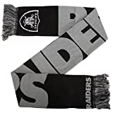 Oakland Raiders - Echarpe avec écusson de football américain