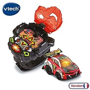 VTech - Turbo Force-Coche Rojo Reloj 80-198205