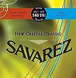 Savarez New Cristal Classic 540CRJ Jeu de Cordes pour Guitare classique