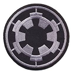 Star Wars Imperial Target Imperium iron sew on patches Logo Vest Jacket Hat Hoodie Backpack Iron On patches by W Expert