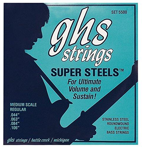 GHS SS 5500 R REGULAR SUPER STEELS ENTORCHADO REDONDO (ESCALA MEDIA 32/ 33?)