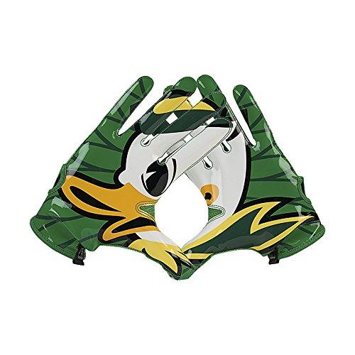Nike Vapor Knit NCAA Oregon Ducks On Field American Football Handschuhe - Large