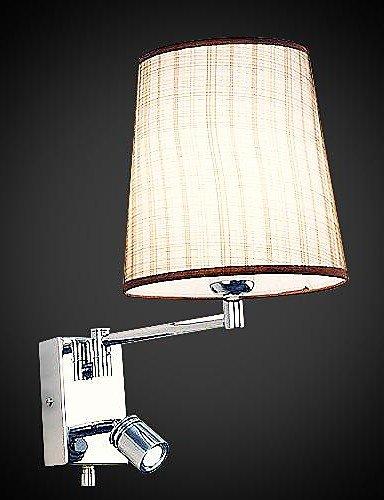 Lampada da parete, 1 luce, Beadalon Artistic Wire-Filo placcato in acciaio INOX, MS-86209-8