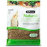 ZUPREEM 230353 Natural Medium Bird Food, 2.5-Pound by ZuPreem