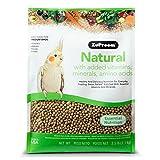 Zupreem 230353Natural Mediano alimento para pájaros, 2.5-Pound