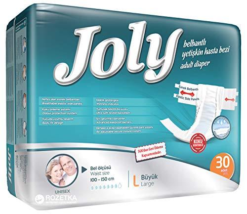 Joly Inkontinenz Slip für Erwachsene: Sehr saugstarke Windeln in allen Größen, 30 Stück