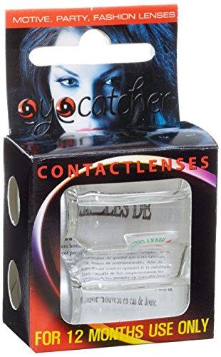 Eyecatcher Color Fun X-mas - farbige Kontaktlinsen - Merry Christmas - Weihnachtsmütze