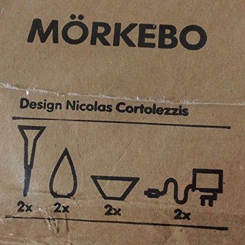 Ikea mörkebo 2x LED–Decoración de iluminación/lámpara _ todos fija/Fiesta/Vela/antorcha _ 4en 1