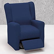 Funda de Sillón Relax Elástica Modelo ARUCAS, Color BEIGE C/2, Medida 70-110cm