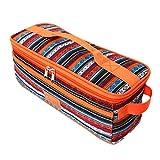 yino Langlebig auslaufsicher leicht tragbar Picknick Lunch Bag, Geschirr Geschirr Utensilien Aufbewahrungstasche Tasche für Reisen, Grillplatz, Strand, Camping, Wandern