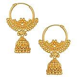Fashionaya Jhumki Hoop Earrings for Wome...