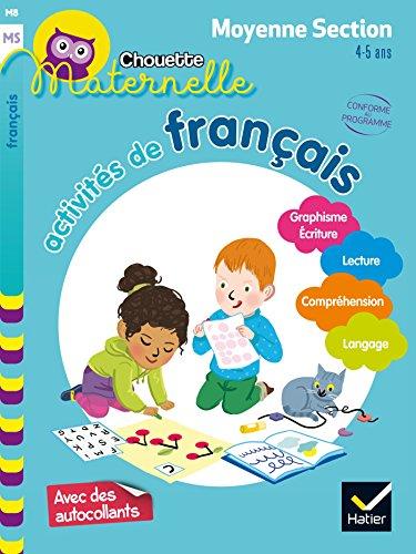 Activités de français Moyenne Section