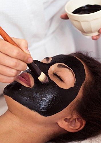 Aktivkohle-pulver (Aktivkohle Pulver 50g, für Zahnaufhellung, Zahnbleaching oder  schwarze Gesichtsmaske)