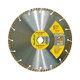 Disque à tronçonner diamant Turbo 230mm pour stone, granite, béton, acier béton, brique, la brique etc.