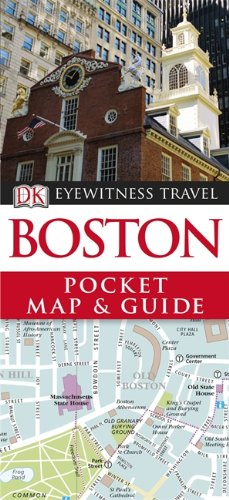 DK Eyewitness Pocket Map and Guide: Boston